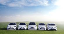 Över fem miljoner Toyota- och Lexus-hybrider sålda