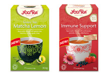 YOGI TEA®  Green Tea Matcha Lemon och Immune Support med vitamin C