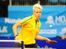 Playoff till EM, svenska damlandslaget i bordtennis