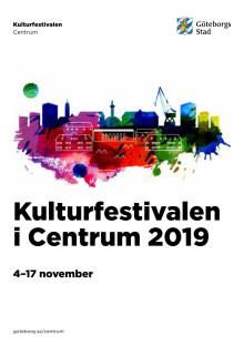 Program för Kulturfestivalen i Centrum 2019