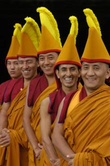 Tempelriter från Tibet på Uppsala International Sacred Music Festival