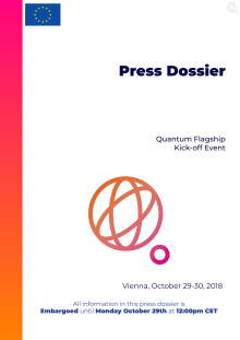 Quantum Flagship – press dossier