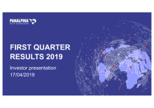 First Quarter Results 2019 – Investor Presentation
