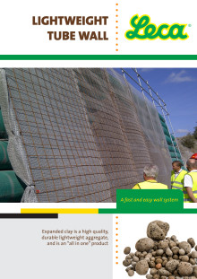 Brosjyre om det nye konseptet Lightweight Tube Wall