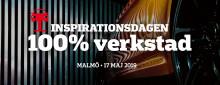 Inspirationsdagen 100% Verkstad återvänder till Malmö den 17 maj