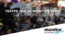 Träffa oss på Monitor Expo 2017!