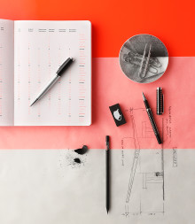 "Plan and sketch like the real Bauhaus greats: ""Rosenthal loves Bauhaus"" Accessories"