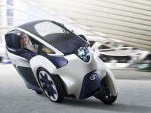 Toyota i-ROAD – ett helt nytt koncept för personlig transport