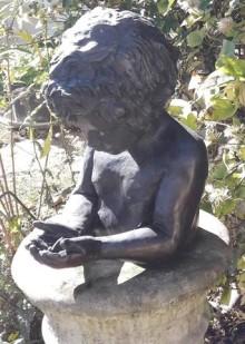 Bronze statue stolen from Winchester garden