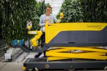 Roboten som skördar paprikor och framgång