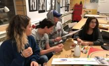 Designgymnasiets elevkår arrangerar auktion för Musikhjälpen