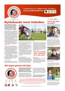 Informationsbilaga Hudiksvalls Förenade Fotboll