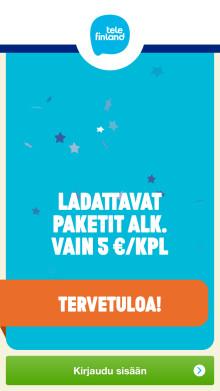 Tele Finland lanserar applikationer av Smart Refill