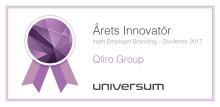 Qliro Group vinner Universum Awards för Årets Innovatör