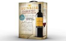 Nu lanseras Sunrise Cabernet Savignon som bag-in-box