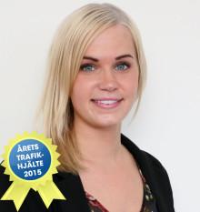 Cecilia från Älvdalen är Årets Trafikhjälte