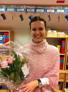 Årets pedagog i Vellinge kommun: Cecilia Palm på Håslövs Byaskola