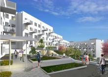Första spadtaget för stor satsning på hållbara studentbostäder i Ektorp