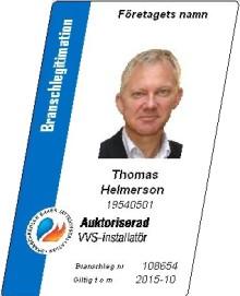 Kräv att få se VVS-montörens legitimation