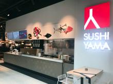Idag invigs Sushi Yama i nya Kongahälla Center