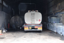 Four arrested in fuel fraud raid