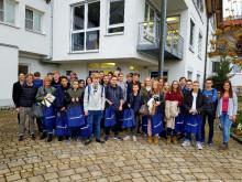 Schmetterling International in Geschwand begeistert junge Leute