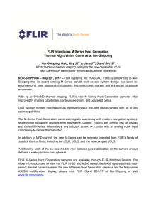 FLIR Introduces M-Series Next Generation Thermal Night Vision Cameras at Nor-Shipping