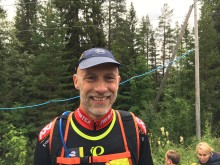 Positivt fjällmaraton i ösregn