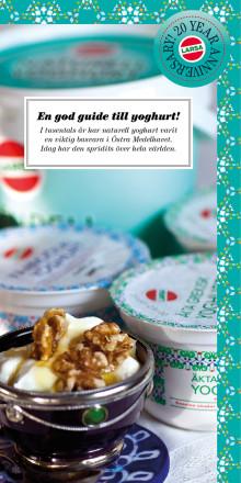 Larsa fyller 20 år! Det firar vi med att hurra för vår yoghurt & ayran!