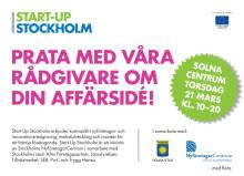 Start-Up Stockholm Länsturné 2013 har premiär i Solna Centrum!