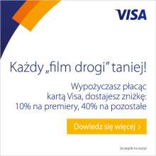 Do 40% rabatu w serwisie VoD.pl przy płatności kartą Visa
