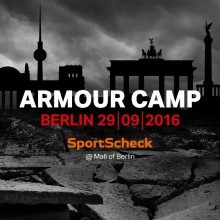 Under Armour-Camp in Berlin