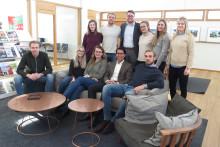 Inspirerande möte och intervju med de utvalda Chalmersstudenterna