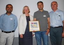Gårdstensbostäders trygghetsgrupp vinnare av det första Lejonpriset