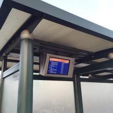 Fler busshållplatser kan utrustas med trafikantinformation i realtid