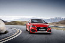 Premiär i Geneve: Nya Audi RS 5 Coupé