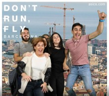 Flyg över Stockholm med ASICS på maratonmässan!