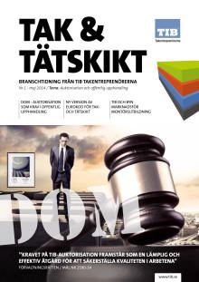 Tak & Tätskikt Nr1 2014