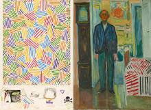 Jasper Johns och Edvard Munch i unik utställning på Munchmuseet