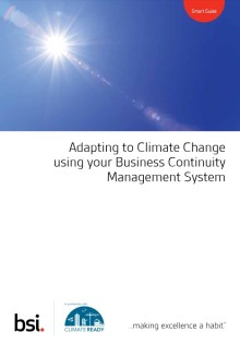 Adapting to climate change using your Business Continuity Management System