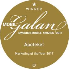 Apotekets app får pris för användarvänlighet