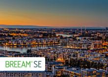 Sweden Green Building Council godkända för självständig drift av BREEAM-SE