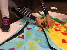Ungdomarnas konst ska lysa upp Rinkebystråket