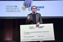 Fastighetsmäklarna som samlat in mest till kampen mot barncancer