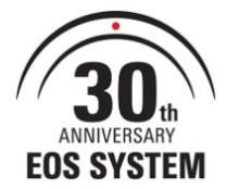 Canon firar 30-årsjubileum för EOS System