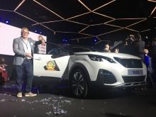"""Den nye PEUGEOT 3008 SUV er """"Car of the Year 2017"""""""