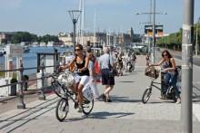 Ulla Hamilton (M): Stockholms lånecyklar ett vårtecken