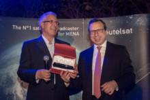 OSN First HD - Home of HBO nagrodzony przez Eutelsat jako sześciotysięczny kanał jego floty