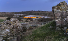 ​New Visitor Centre at Hammershus Castle Ruin
