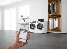 IFA 2019: Bosch presenterar nya generationens tvättmaskiner och torktumlare med smarta funktioner.